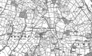 Old Map of Clifton, 1889 - 1907