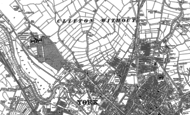 Old Map of Clifton, 1890 - 1891