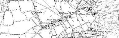 Old map of Burn of Ludquharn centred on your home