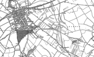 Old Map of Clothall Common, 1896 - 1900