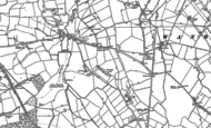 Old Map of Coate, 1899 - 1922