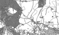 Old Map of Cockpole Green, 1910