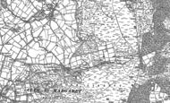 Old Map of Cockshutford, 1883