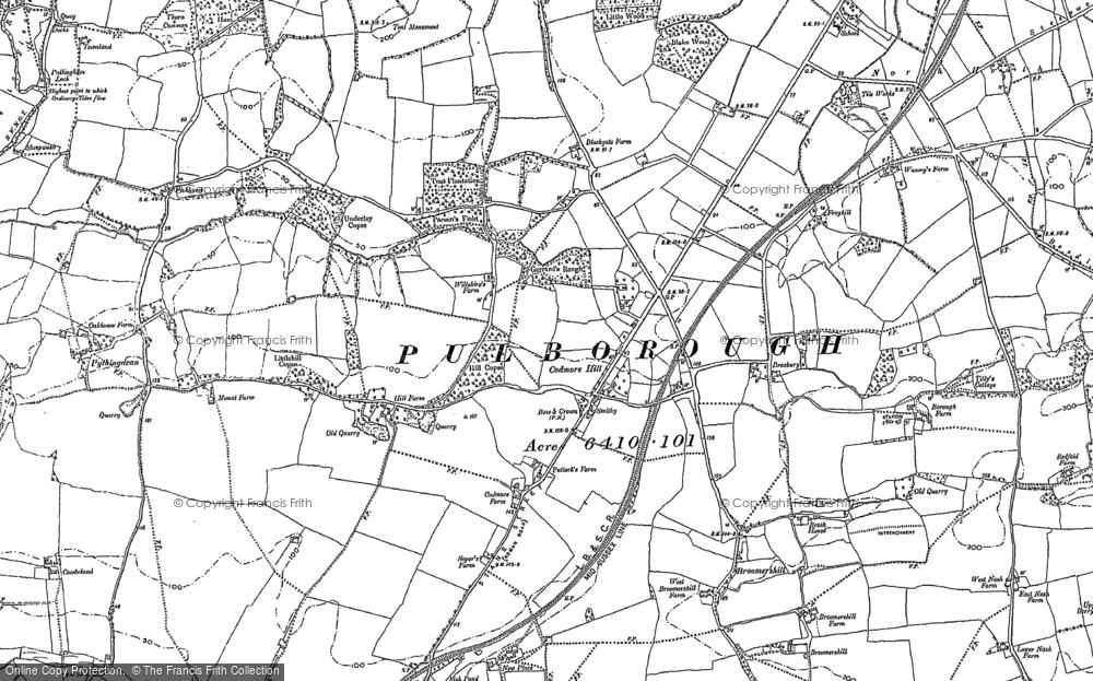 Codmore Hill, 1895 - 1896
