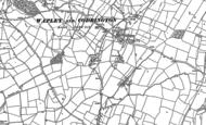 Old Map of Codrington, 1881