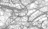 Old Map of Coelbren, 1903