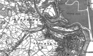 Old Map of Cogan, 1889 - 1915