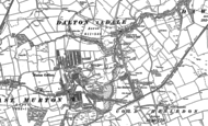 Old Map of Cold Hesledon, 1914