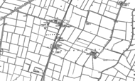 Map of Coldham, 1886