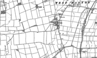 Old Map of Coleby, 1906