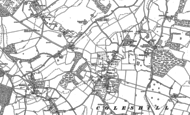 Old Map of Coleshill, 1897 - 1923