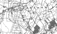 Old Map of Collier Row, 1895