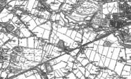 Old Map of Collins Green, 1891 - 1892