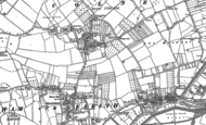 Map of Colne, 1900 - 1901