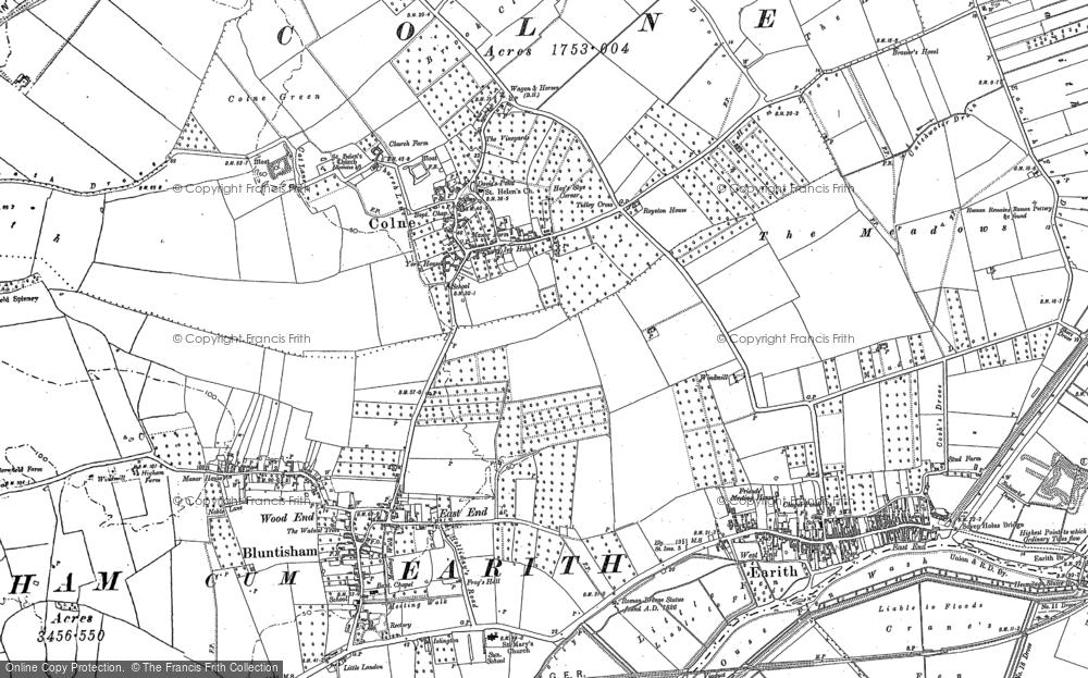 Colne, 1900 - 1901
