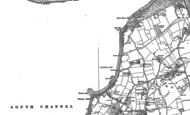 Old Map of Colwell Bay, 1907