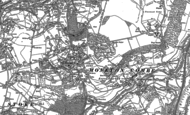 Old Map of Combe Down, 1902