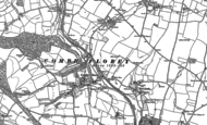 Old Map of Combe Florey, 1887