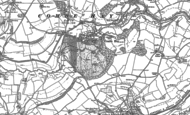 Old Map of Combe Hay, 1883 - 1902
