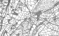 Old Map of Comley, 1882