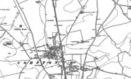 Old Map of Compton, 1898
