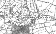 Old Map of Compton Bassett, 1899