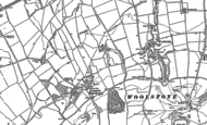 Old Map of Compton Beauchamp, 1898 - 1910