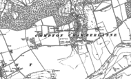 Old Map of Compton Chamberlayne, 1899