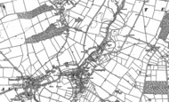 Old Map of Coningsby, 1887