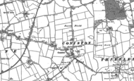 Old Map of Coniston, 1889
