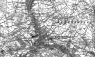Old Map of Constable Lee, 1891 - 1892