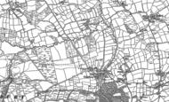 Old Map of Cookbury, 1883 - 1884