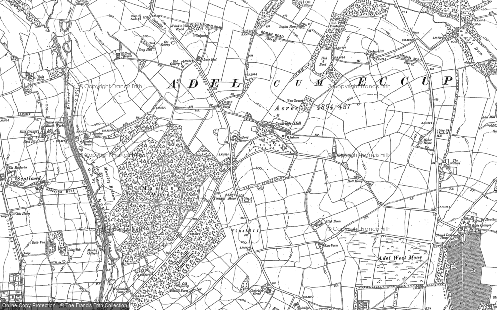Old Maps of Cookridge Francis Frith