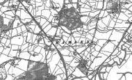 Old Map of Cooksbridge, 1896 - 1898