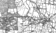 Old Map of Cootham, 1896