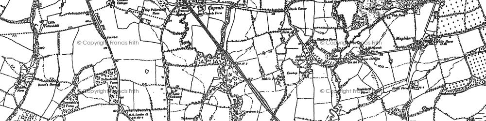 Old map of Alicelands in 1896
