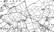 Old Map of Cornard Tye, 1885 - 1902
