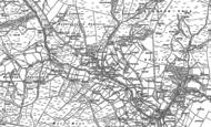 Old Map of Cornriggs, 1896