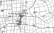 Old Map of Corringham, 1885
