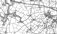 Old Map of Cosford Airfield, 1881