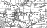Old Map of Cosham, 1895 - 1907
