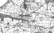 Old Map of Cosheston, 1906