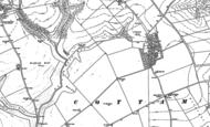 Old Map of Cottam, 1888 - 1889
