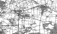 Old Map of Coundon, 1896