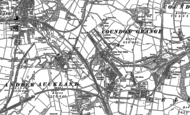 Old Map of Coundon Grange, 1896