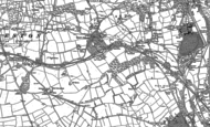 Old Map of Court Colman, 1897 - 1914