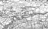 Old Map of Coverham, 1891