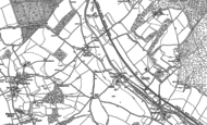 Old Map of Cow Roast, 1922 - 1923