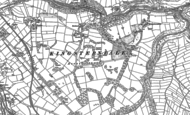 Old Map of Cowdale, 1879 - 1898