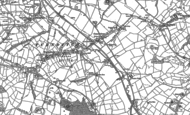 Old Map of Cowers Lane, 1879 - 1880